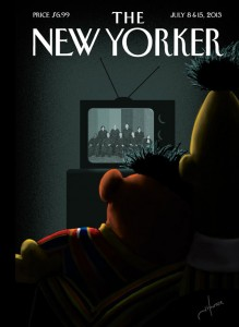 ernie bert new yorker cover