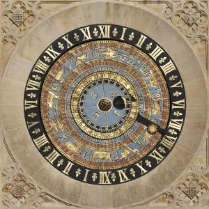 Astronomical Clock at Hampton Court