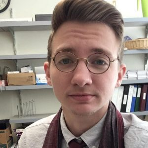 Profile Image of Alex Gatten, the new visiting assistant professor of English and the associate director of First Year Writing